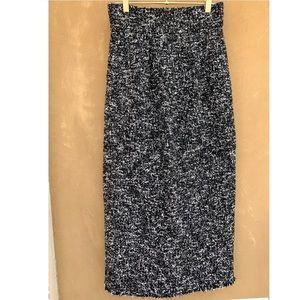 ZARA High Waist Knit Pencil Skirt w. Pockets